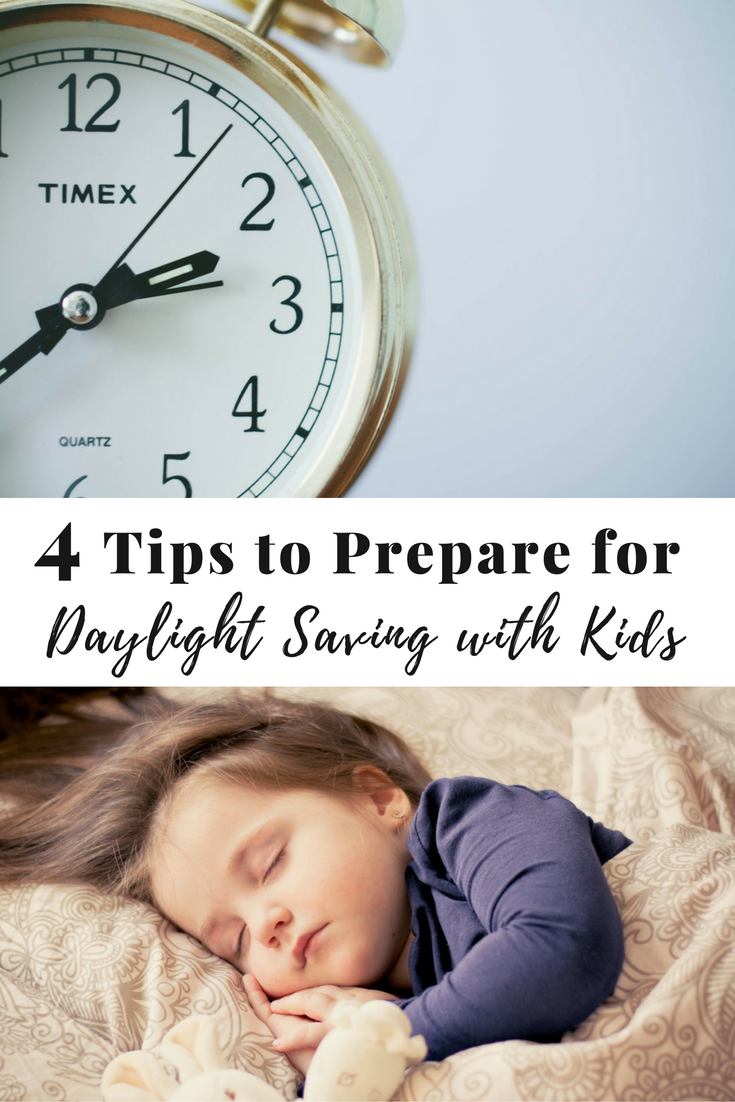Tips to help you kids prepare for and transition into Daylight Saving