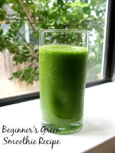 Green Smoothie Recipe1