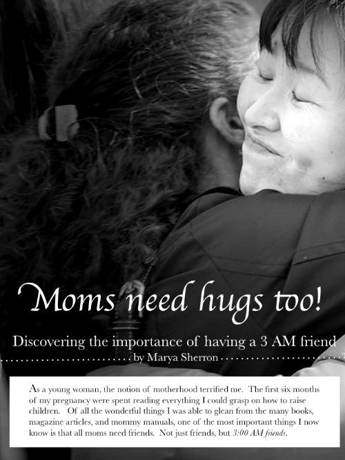 mom need hugs