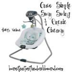 Graco Simple Sway Swing & Bodysuit Giveaway