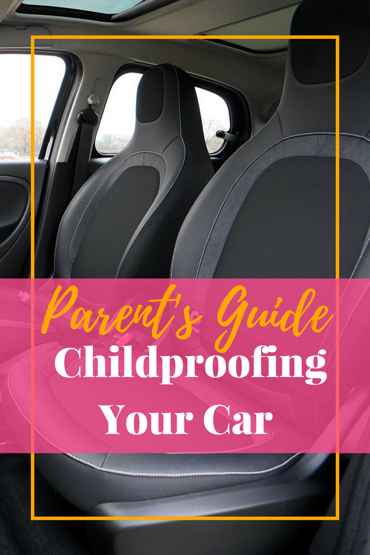 Your home is childproof, right? Or you have at least thought about childproofing your home, but have you that about your car? Well, you should think about childproofing your car. In addition to child safety and car seat safety for your child's car seat, the interior of you car should be included in that process.
