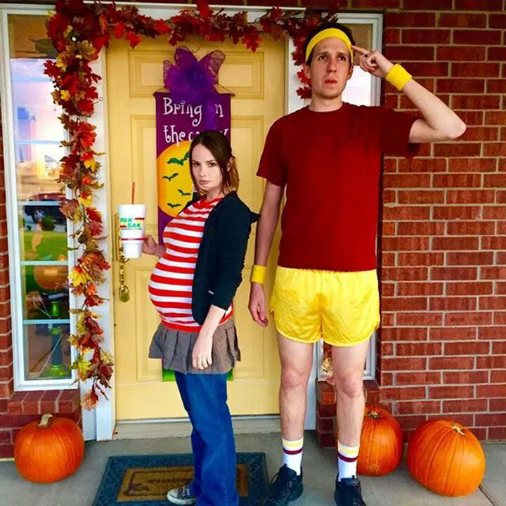 Pregnancy Halloween Costume Ideas