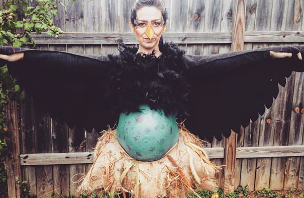 Mama Bird Pregnancy Halloween Costume