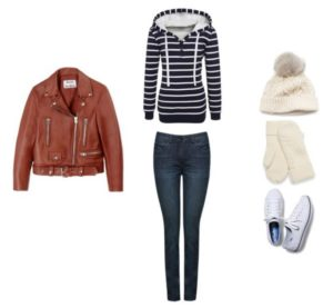 outfit-1-hoodie-leather-jacket-skinny-jeans-hat-gloves-white-sneakers