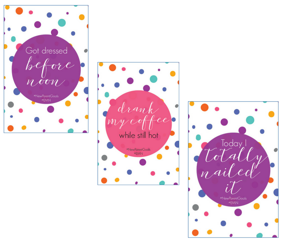 New Parent Milestone Cards