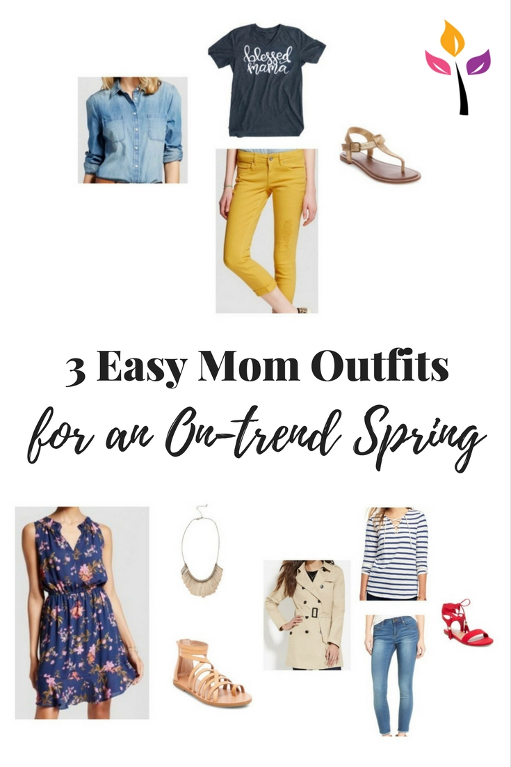 3 Mom Outfits For An On-Trend Spring • The Expecting Mamas