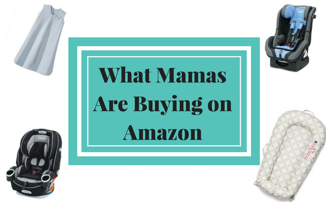 Popular items moms are buying on Amazon this month