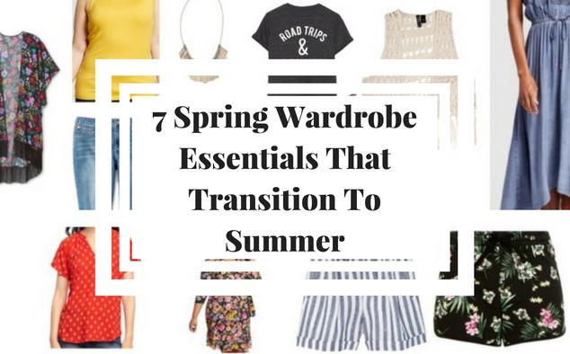 7 Spring Wardrobe Essentials That Transition To Summer