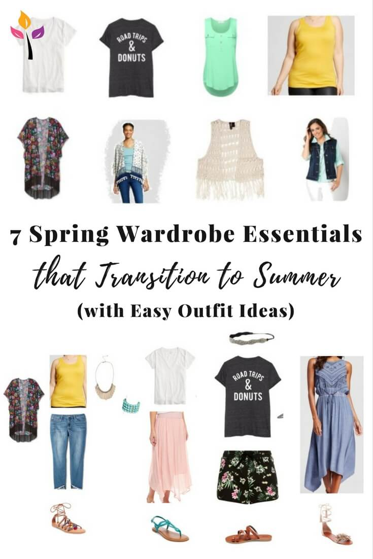Spring clothes for moms that also work in the summer!