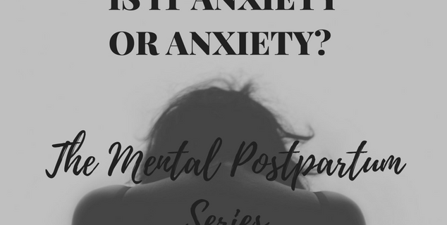 Is it anxiety or Anxiety?