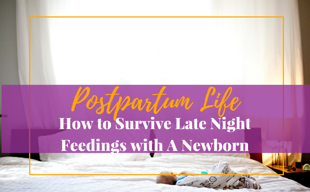 7 Way on How to Survive Late Night Feedings with A Newborn