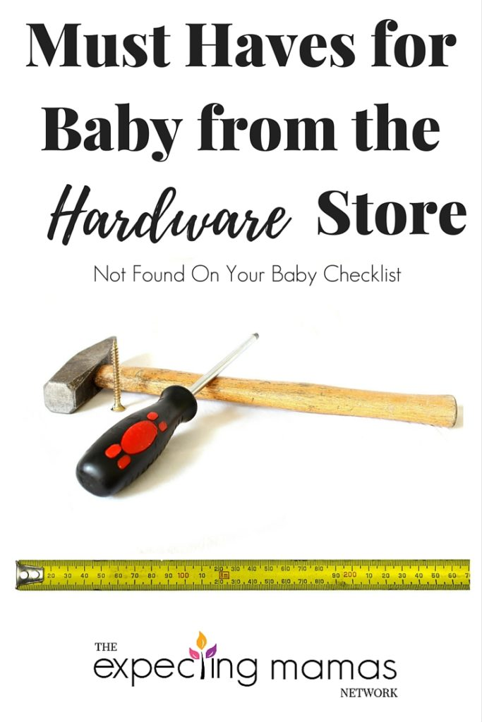 I never thought of going to the hardware store for baby items, but agree that these items are a must have item for your baby registry.