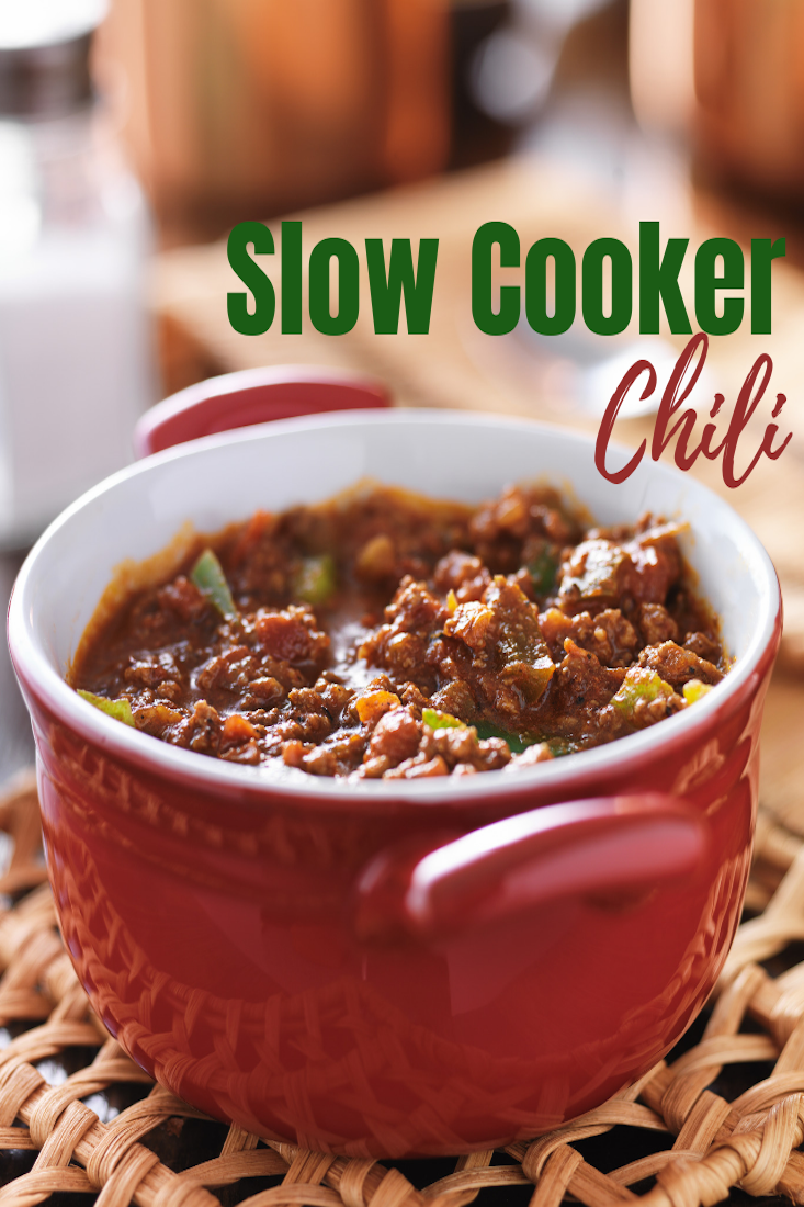 Slower Cooker Chili Recipe #chili #slowcooker #chilirecipe #slowcookerchili