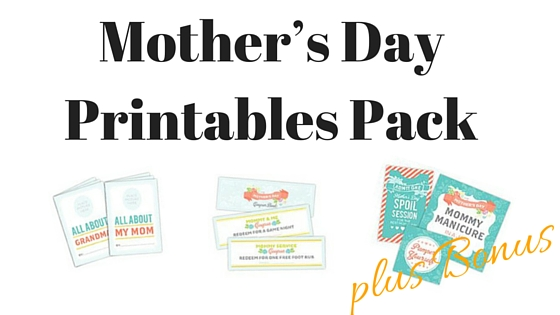 Printable Mother S Day Car