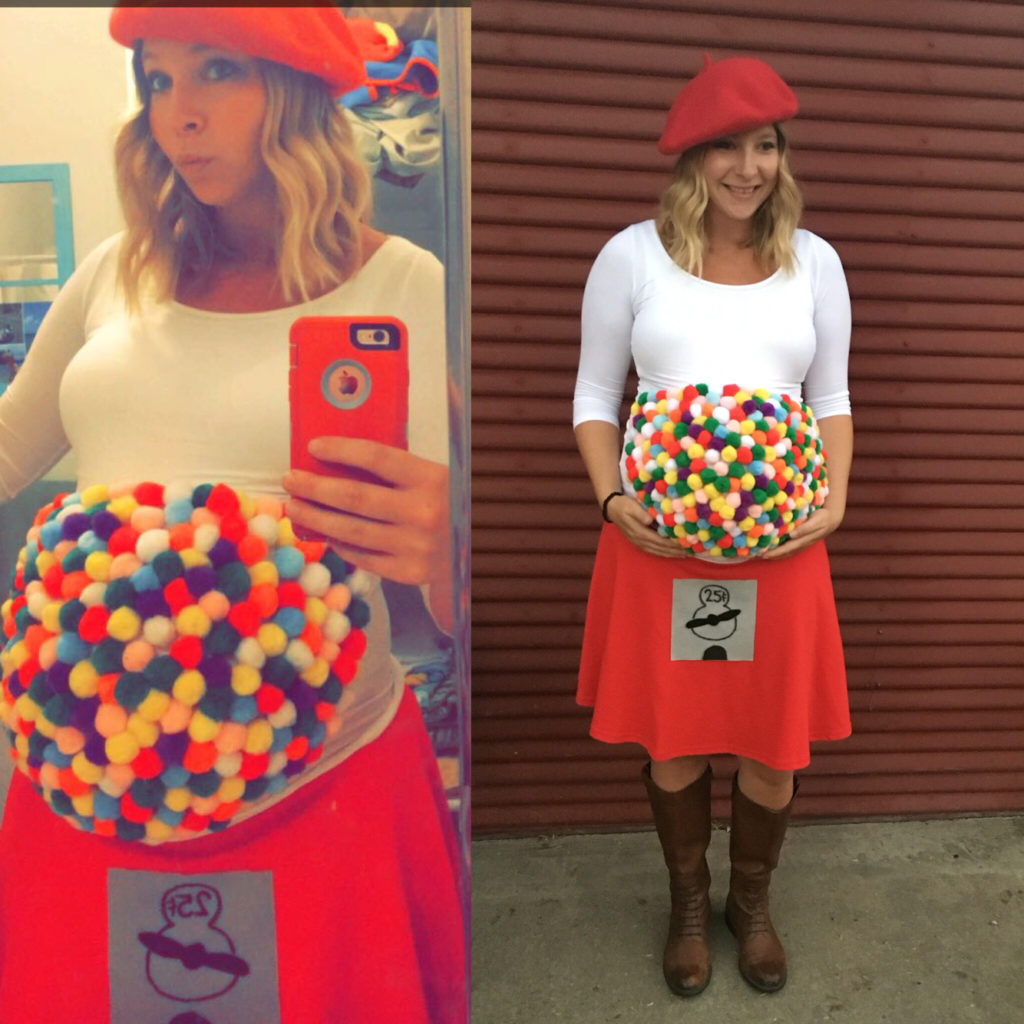 Pregnancy Halloween Costume Idea DIY