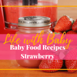 Baby Food Recipes: Strawberry Baby Food