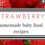 Baby Food Recipes: Strawberry