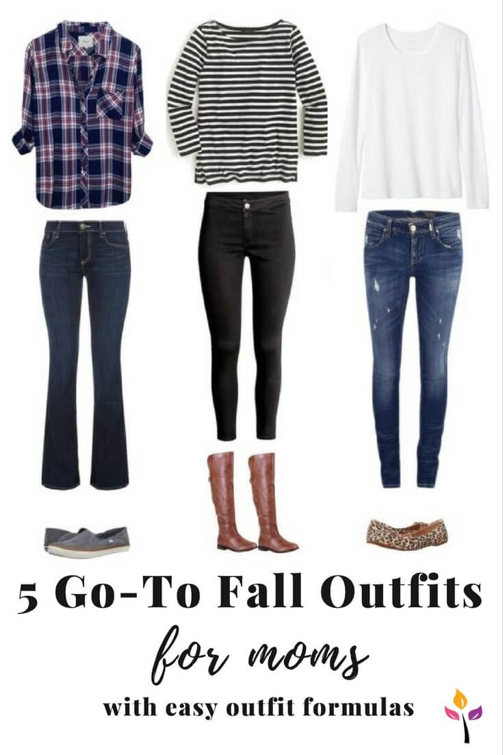 Fall is here - bring on the jeans, boots, and hoodies! Easy to put together fall outfits for busy moms #falloutfits #clothes #wardrobe #outfitideas #style #styleideas #fallstyle #falloutfits