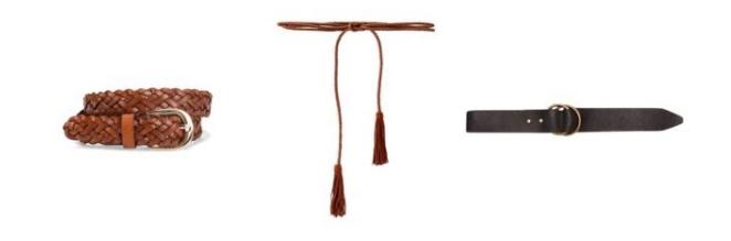 Transition to Fall Wardrobe Belts