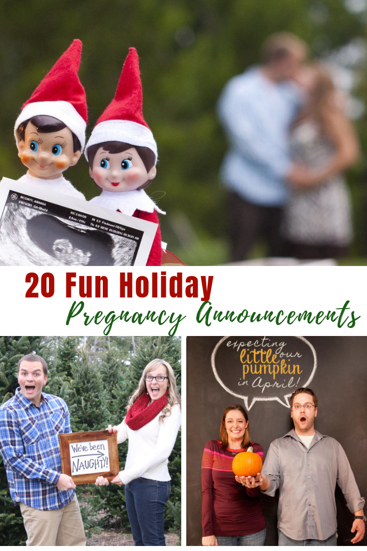 20 Fun Holiday Pregnancy Announcements #pregnancy #pregnancyannouncements