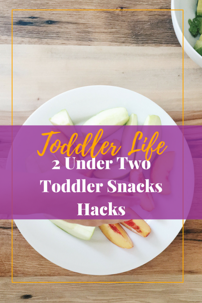 If you have two under the age of two, then help your sanity and follow these toddler snack hacks.