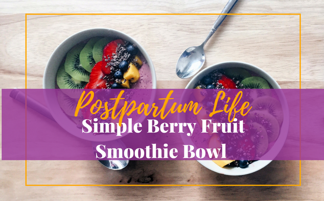 Have a berry fruit smoothie bowl. It's like ice cream, but healthier. #smoothiebowl #berrysmoothie