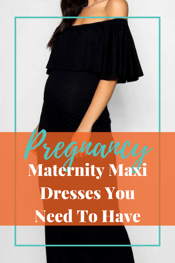 Pregnancy - Maternity Maxi Dresses you need to have #maxidress #maternity #stylemom #pregnancy