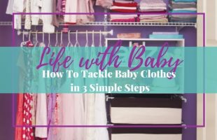 Steps to Organize Your Baby's Closet