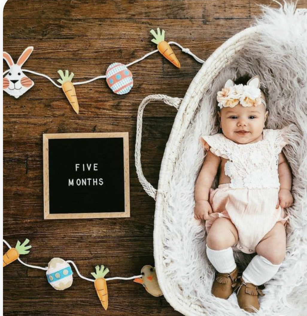 Baby Easter Photography Idea @jaclynhuber